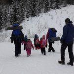 Following the children