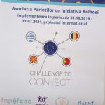 Poster of the challenge to connect project